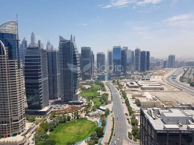 3 Bedroom Flat for Rent in Jumeirah Lake Towers (JLT), Dubai - 3BR + Maid's | Long Balcony| Dubai Arch Tower | JLT
