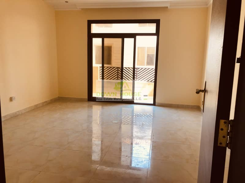Huge 1- bedroom hall with balcony in Mohammed Bin Zayed city . Z 12 .