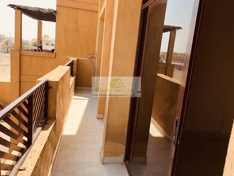 2 Huge 1- bedroom hall with balcony in Mohammed Bin Zayed city . Z 12 .