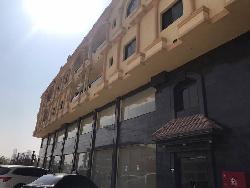 For rent two rooms and a hall in Muwaihat 3 new building