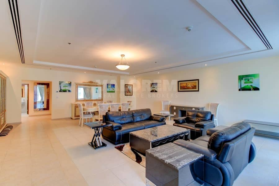 Panoramic View /Higher Floor/4bhk Penthouse + maids room