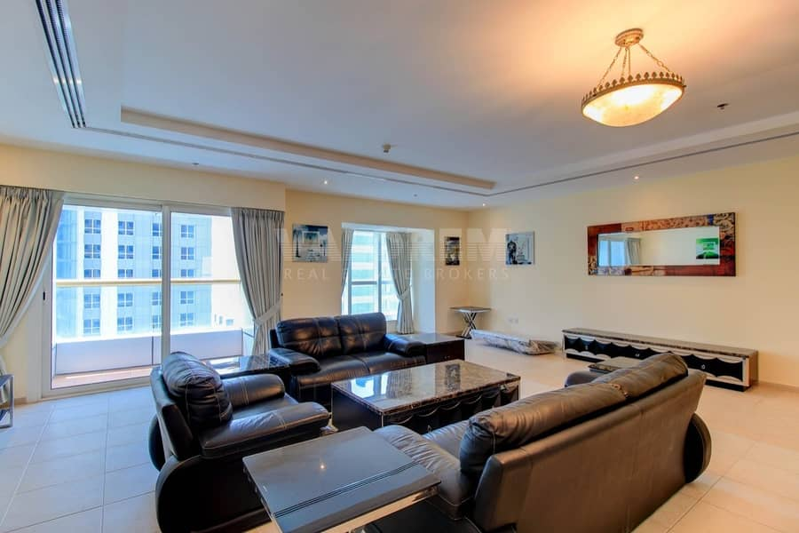 2 Panoramic View /Higher Floor/4bhk Penthouse + maids room