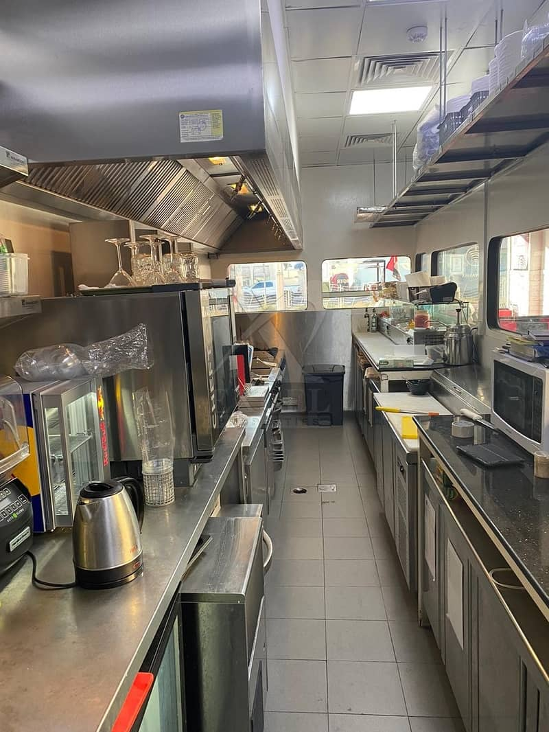 26 Restaurant in Jumeirah Road with a Fully Equipped Kitchen