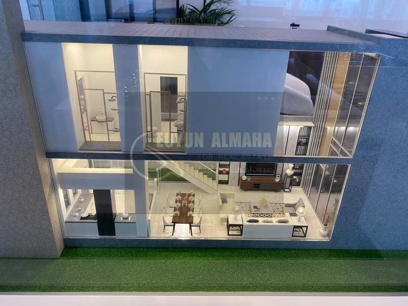 1 Bed Villa in Studio Price