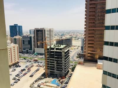 1 Bedroom Flat for Sale in Al Sawan, Ajman - 1 bhk partial city view with parking for sale in Ajman one tower