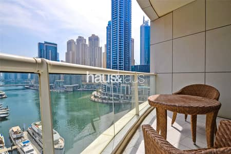 2 Bedroom Flat for Rent in Dubai Marina, Dubai - Beautifully Furnished | Stunning Marina View
