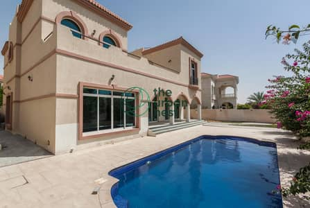 6 Bedroom Villa for Rent in The Villa, Dubai - Customized 6 Bed w/ Pool | Study and Drivers Room