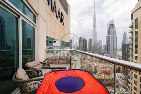 2 Bedroom Flat for Sale in Downtown Dubai, Dubai - Burj Khalifa and Fountain View | Prime Location