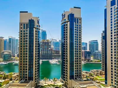 3 Bedroom Apartment for Sale in Jumeirah Beach Residence (JBR), Dubai - JBR Rimal 6 Motivate Seller 3BR+ maids Marina view
