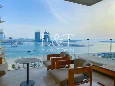 فلیٹ 2 غرفة نوم للبيع في نخلة جميرا، دبي - Exclusive | Full Dubai Eye View | Fully Furnished