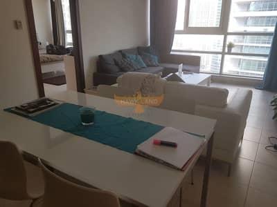 شقة في برج السحاب 2 السحاب دبي مارينا 1 غرف 70000 درهم - 4610380