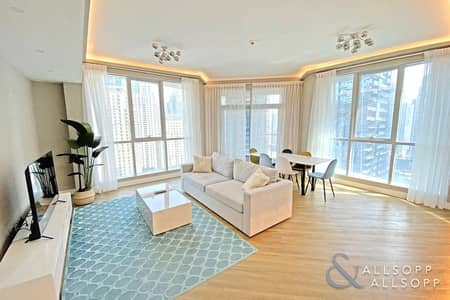 2 Bedroom Flat for Sale in Dubai Marina, Dubai - Fully Upgraded   Fully Furnished   Vacant