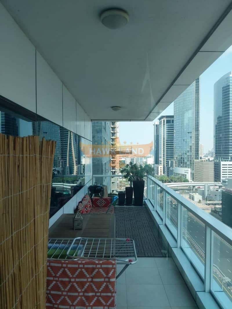 شقة في برج ماج 218 دبي مارينا 2 غرف 1500000 درهم - 4610460
