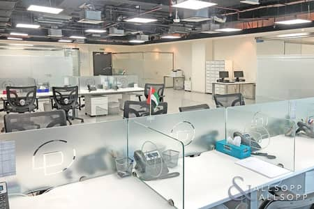 مکتب  للايجار في الخليج التجاري، دبي - Fitted | 4 Parking Spaces | Open To Offers<BR/>