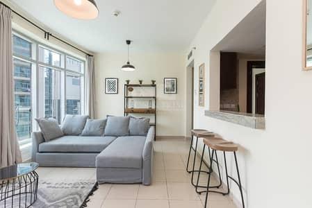 1 Bedroom Apartment for Rent in Dubai Marina, Dubai - High floor | Marina Views | Furnished Large 1 Bed