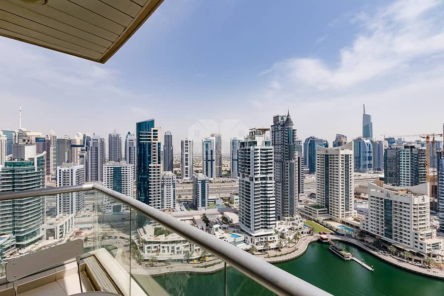 11 High floor   Marina Views   Furnished Large 1 Bed