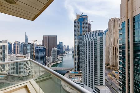 2 Bedroom Apartment for Rent in Dubai Marina, Dubai - Unfurnished Option | Full Marina View |Vacant Soon