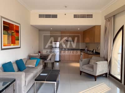 2 Bedroom Flat for Rent in Arjan, Dubai - Corner Unit | Fully Furnished | 2 Balconies