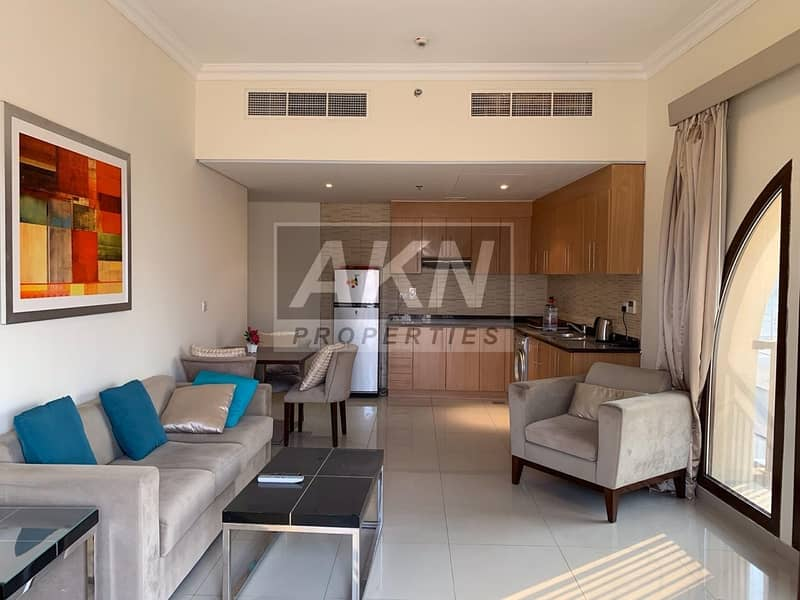 2 Corner Unit | Fully Furnished | 2 Balconies