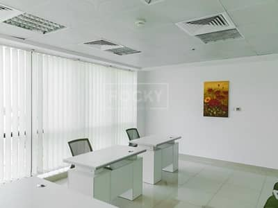 Office for Rent in Dubai Silicon Oasis, Dubai - Mid Floor | Fitted | Office | Silicon Oasis