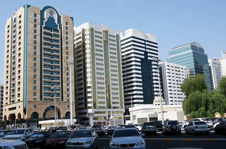 Building for Sale in Madinat Zayed, Abu Dhabi - For sale commercial building with excellent income 5 floors inside Abu Dhabi