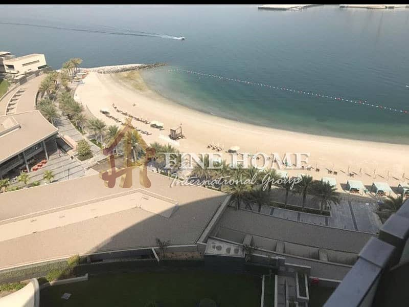 Spacious 3 BR Apartment with Partial Sea View