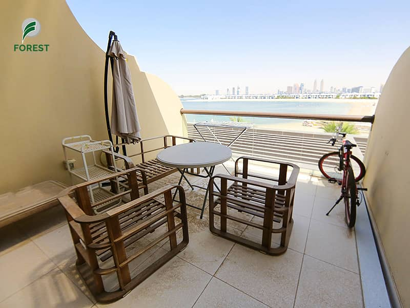 2 Fully furnished |Full sea view | vacant |beach access