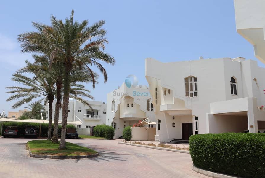 5 Bed compound villas for rent