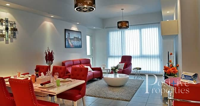 2 12 Cheques | Palm Views | Fully Furnished