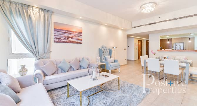 11 Fully Furnished | 12 Cheques | Partial Sea View