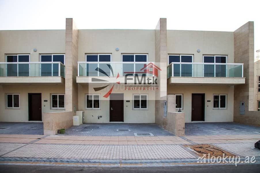 Brand New 3 Bedroom + Maid Room Townhouse for Rent