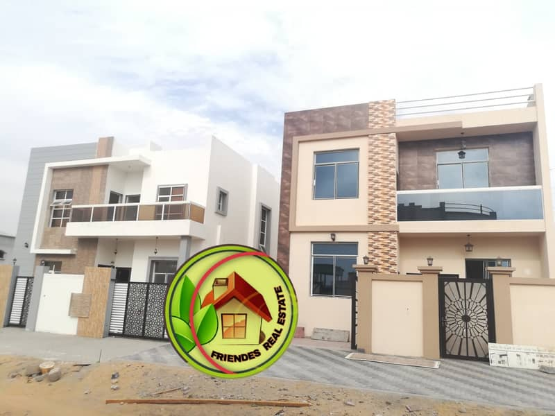 Freehold villa with no down payment, super deluxe finishing, Al Helio area 2, calm, comfortable and reassuring area