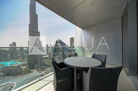 Furnished | Burj Khalifa and Fountain Views
