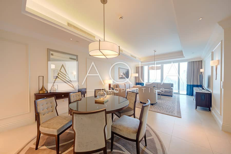22 Furnished | Burj Khalifa and Fountain Views