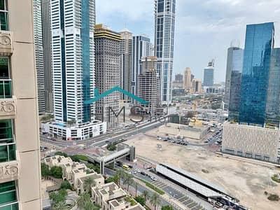 شقة 1 غرفة نوم للايجار في دبي مارينا، دبي - Spacious 1BR+Study Emaar 6 Tower Murjan