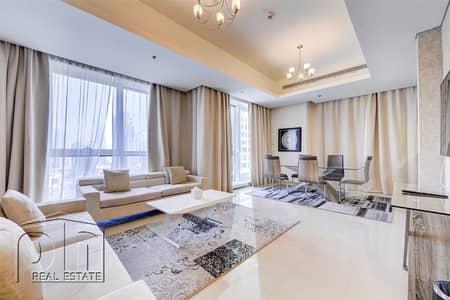 2 Bedroom Flat for Rent in Dubai Marina, Dubai - Marina View | Furnished | Modern Look