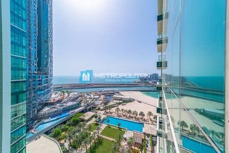 2 Bedroom Apartment for Sale in Jumeirah Beach Residence (JBR), Dubai - Ain Dubai View I Vacant I Beach Access I Mid flr