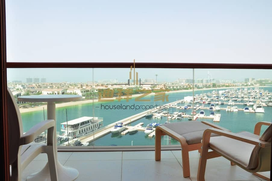 LUXURIOUS FULLY FURNISHED | SEA VIEW |CHILLER FREE