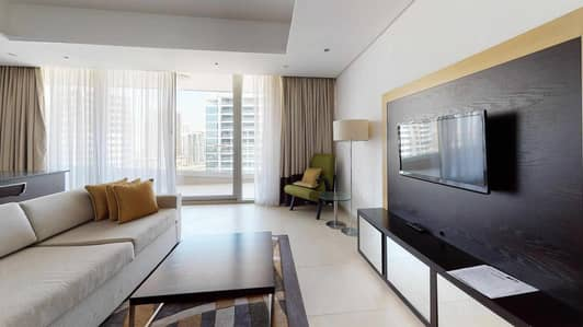 1 Bedroom Apartment for Rent in Dubai Sports City, Dubai - High floor | Furnished | Rooftop pool