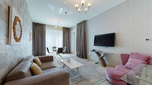1 Bedroom Hotel Apartment for Rent in Dubai Marina, Dubai - Deluxe 1-BR hotel apartment with pet-friendly living