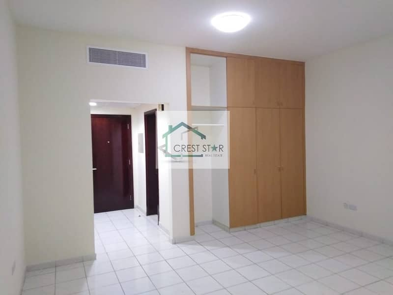 Studio apartment available for rent in International city