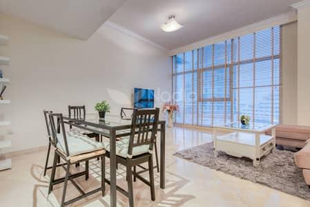 3 Bedroom Flat for Rent in Dubai Marina, Dubai - Fully Furnished 3BR + Maid   Dorra Bay   Dubai Marina