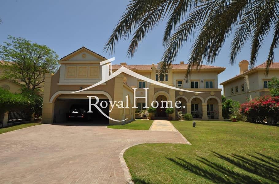 LARGE PLOT | 5BR villa | Jumeirah Islands