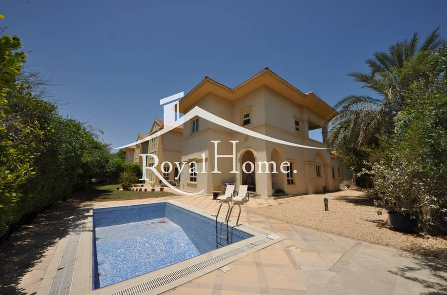 2 LARGE PLOT | 5BR villa | Jumeirah Islands