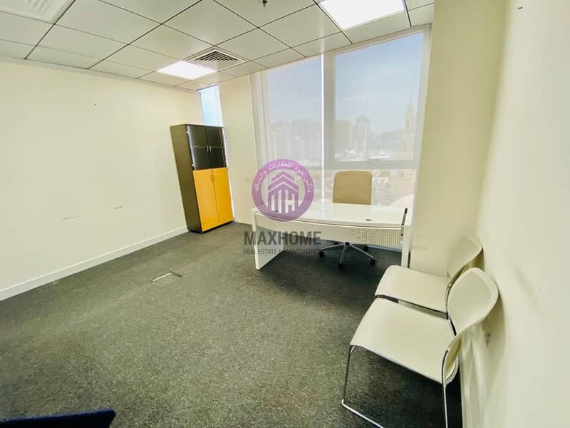 2 Exclusive and Fully Furnished Offices w/ Free Tawtheeq