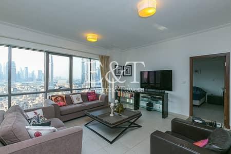 شقة 3 غرف نوم للبيع في وسط مدينة دبي، دبي - High Floor | Rented | High ROI | Cash seller