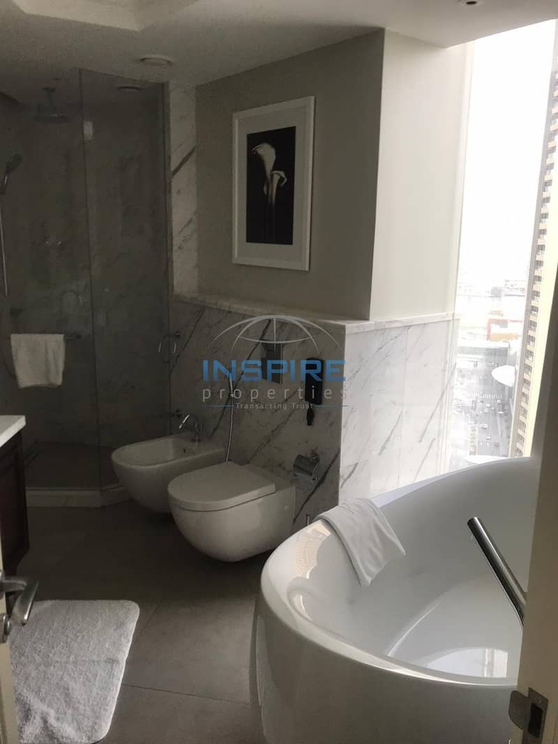 Fully furnished and serviced 2BR in Address Boulevard @ 240k
