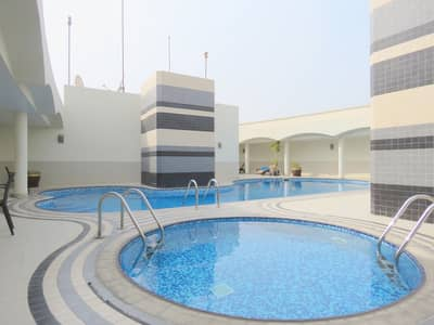 Luxurious 2 Bedroom Hall Apartment With Pool & Gym Opposite Wahda Mall