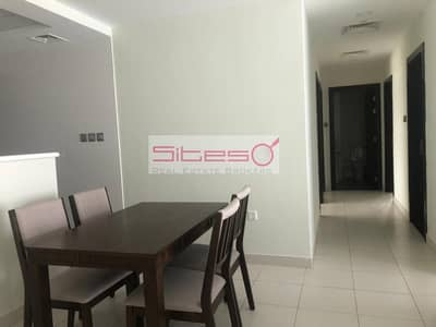 3 Bedroom Flat for Rent in Dubai Studio City, Dubai - Furnished 3 bedrooms / Courtyard view / 4 cheques