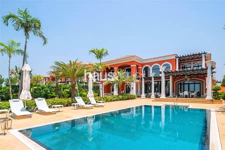 7 Bedroom Villa for Sale in Palm Jumeirah, Dubai - Move in today | Fully Furnished | Skyline View